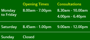 Opening-Times-Chorley
